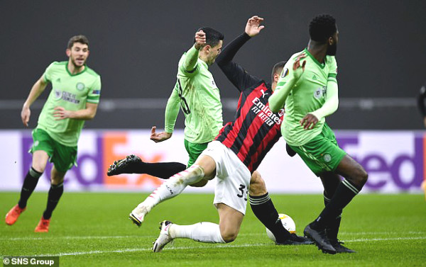 AC Milan - Celtic: Stunned at the beginning, classic upstream (Europa League results)