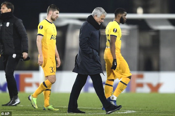 Tottenham is hit by 3 goals: Mourinho criticizes the attitude of the team