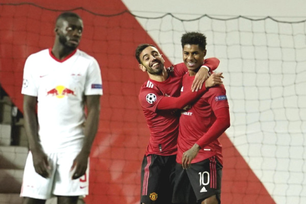 """MU against LEIPZIG at Champions League: Solskjaer """"threatened"""" the opponent, reported bad news of 2 stars"""