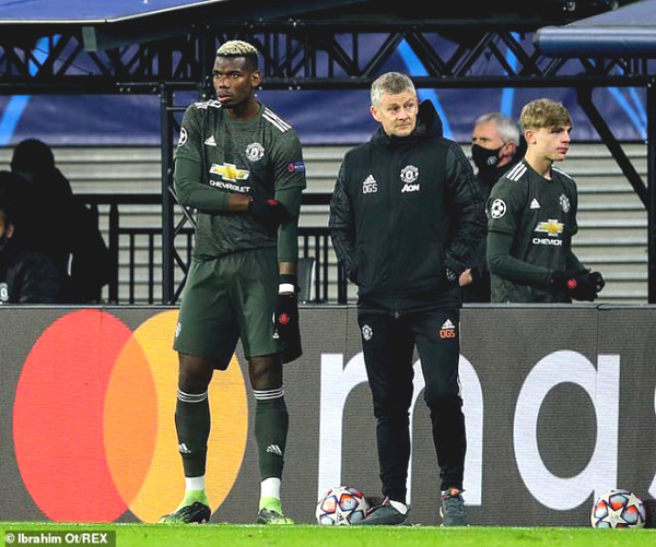 "MU was eliminated from Champions League: Pogba got rebellious in dressing room, Solskjaer got ""crazy"""