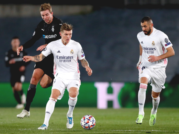 Real Madrid - Monchengladbach: Champions League result