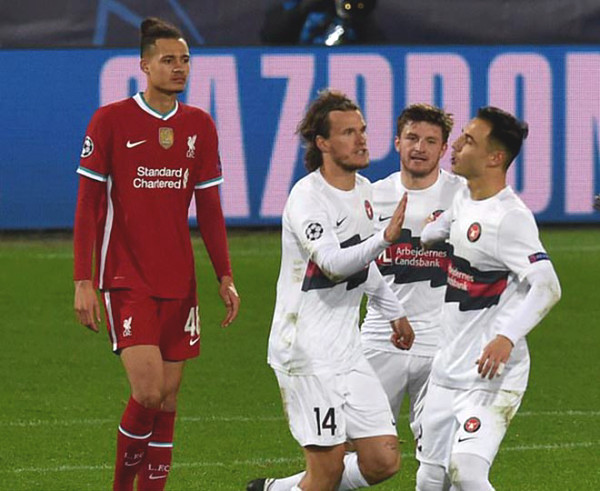 Midtjylland - Liverpool: Salah record, penalty turning point (C1 result)