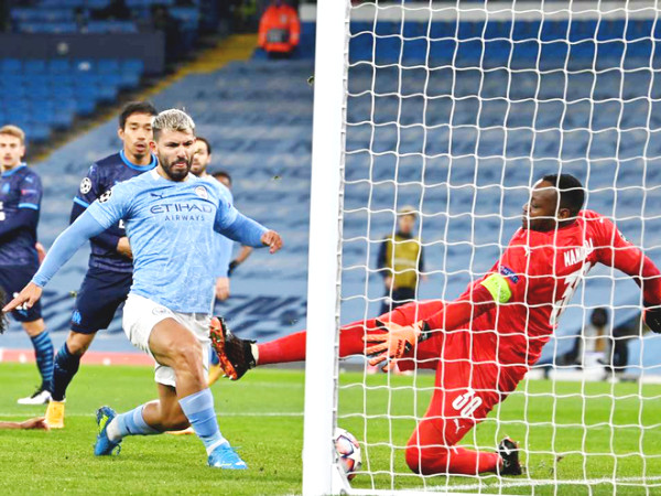 Man City - Marseille: Aguero - Sterling shines, ready to defeat MU (Champions League result)