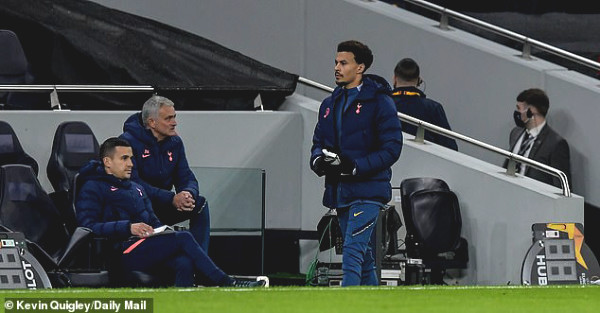 Tottenham Star was angry because he sent to play, Mourinho replied coldly