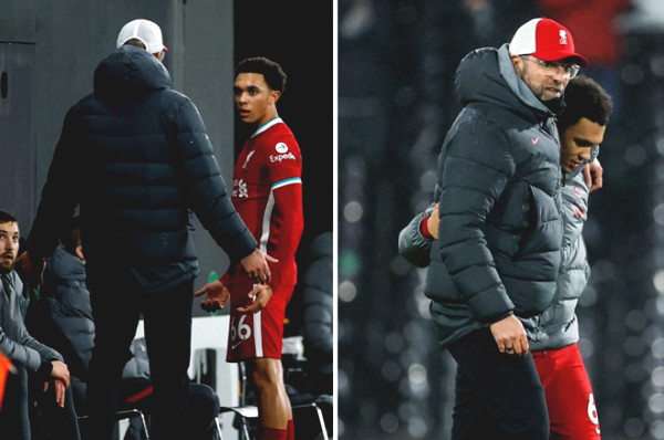 Liverpool trouble: Favorable player got angry with Klopp because of substitution decision