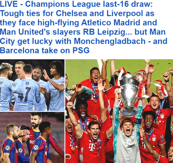 Lottery C1: Spanish Newspaper celebrates, Leo Anh Lo for Chelsea - Liverpool