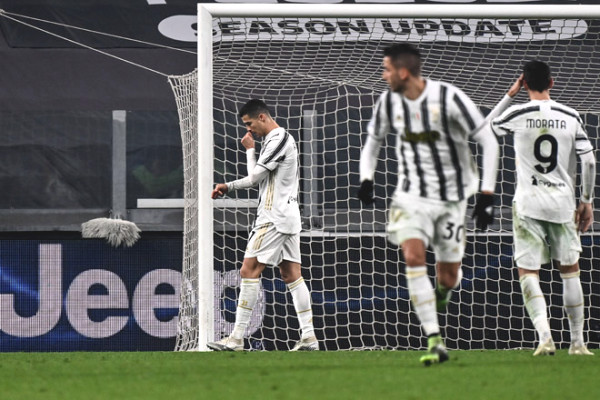 Juventus lost points: Ronaldo lost penalty