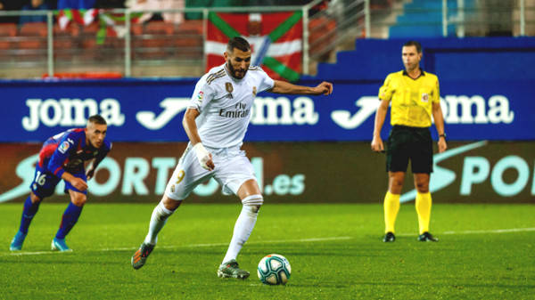 Direct football Eibar - Real Madrid: Vasquez assigns the match