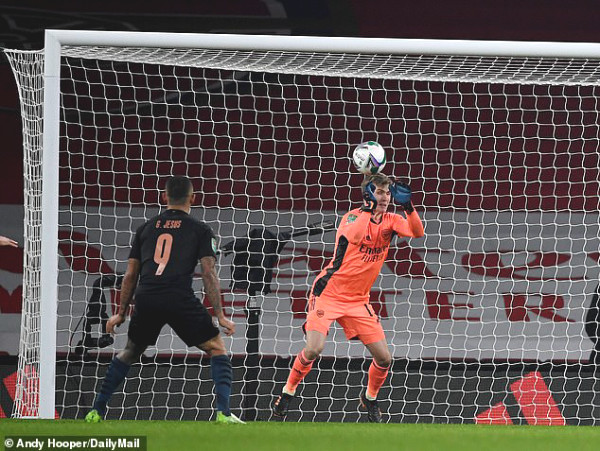 Arsenal's goalkeeper made a mistake which made the home team eliminated, what does Arteta say?