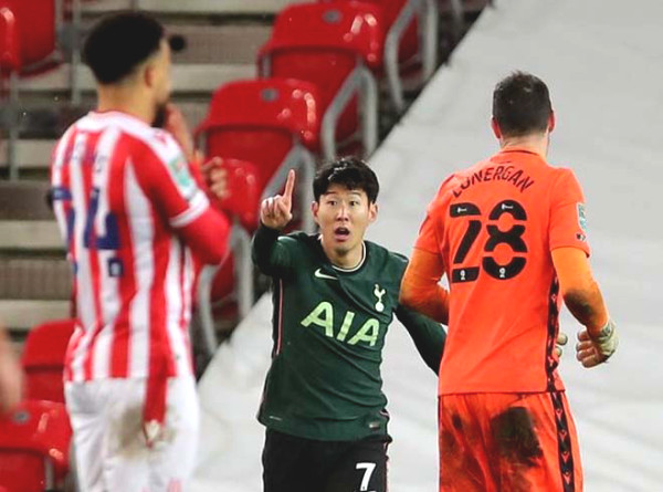 Son Heung Min was stripped of a goal of 100 for Tottenham, Korean newspaper regret