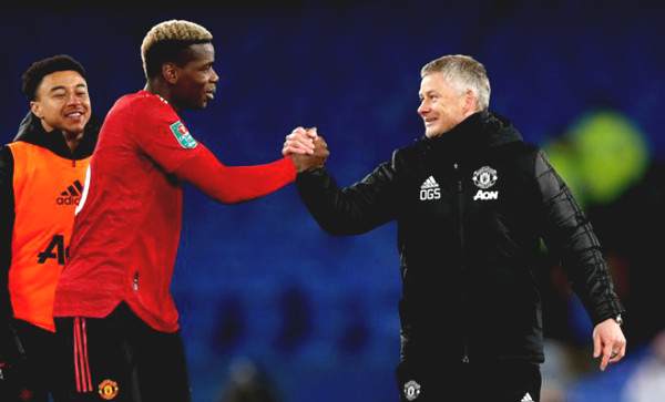 Coach Solskjaer gives signs with Pogba, MU headache because of super striker Leicester
