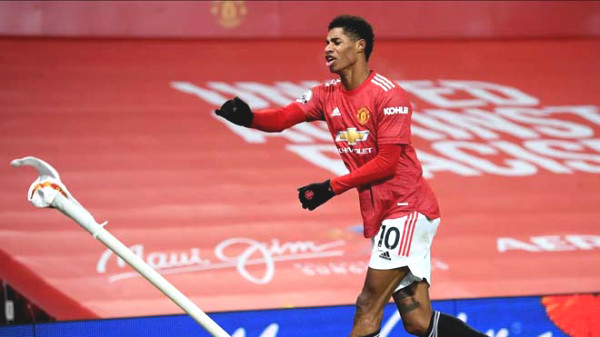 MU defeated Wolves at 90 + 3 minutes: British press praised Rashford, racing against Liverpool for championship