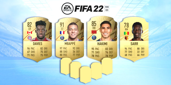 Here are the nine fastest players who are part of the new FIFA 22