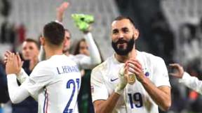 Karim Benzema standing dream of Balon d'Or