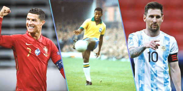 Top five players with most hat-tricks in external football