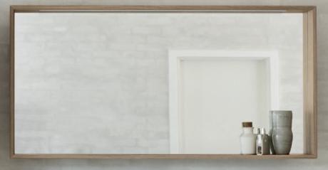 Ultramoderne Køb Dansani Calidris spejl med ramme og LED belysning 120 x 60 cm PV-98