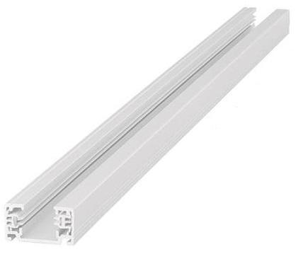 Ekstra Køb Flash Light Square 1F Strømskinne, 3 meter, Hvid 4245550052 WN16