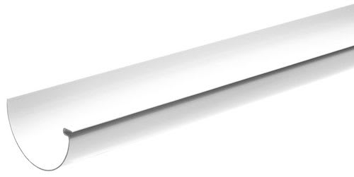 Storslåede Køb Plastmo tagrende nr. 11 i hvid - 6 meter 275110301 OY72