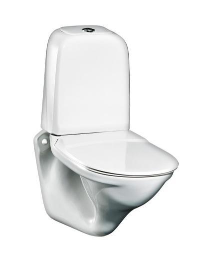 Gustavsberg Nordic 339 vegghengt toalett - 640x345 mm