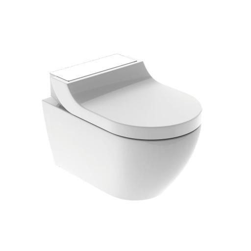 Geberit AquaClean Tuma Comfort Vegghengt dusjtoalett med sete, Hvit
