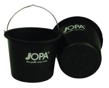 Murebøtte sort plast 12 liter