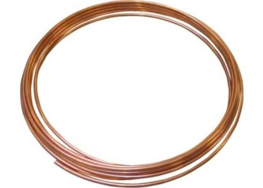 Kobberrør Bløt 10mm (Rull 50mtr.)