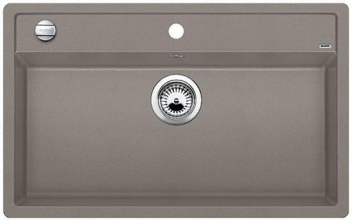 Blanco Dalago 8 MX Kjøkkenvask 81,5x51 cm, m/kurvventil, Silgranit Trøffel