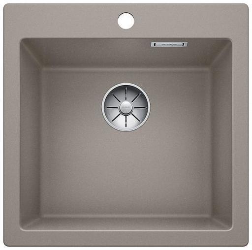 Blanco Pleon 5 UXI Kjøkkenvask 51,50x51 cm m/InFino Kurvventil, Silgranit Trøffel