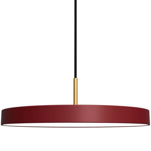 UMAGE Asteria Pendel LED, Rubinrød