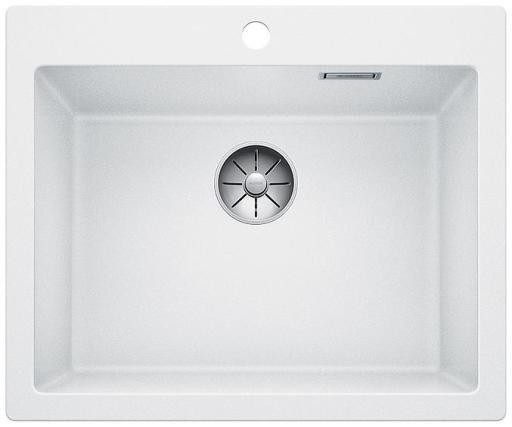 Blanco Pleon 6 UXI Kjøkkenvask 61,50x51 cm m/InFino Kurvventil, Silgranit Hvit