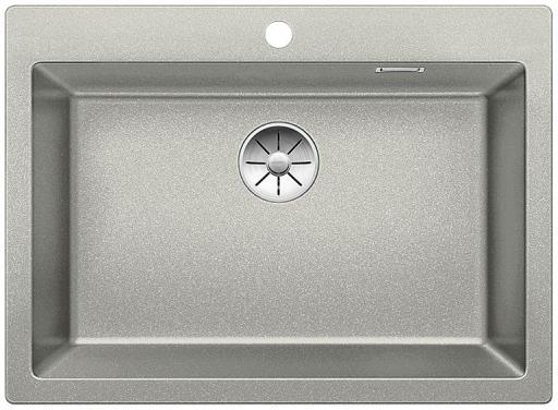 Blanco Pleon 8 UXI Kjøkkenvask 70x51 cm m/InFino Kurvventil, Silgranit Perlegrå