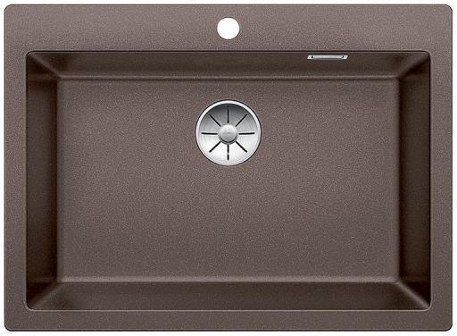 Blanco Pleon 8 UXI Kjøkkenvask 70x51 cm m/InFino Kurvventil, Silgranit Kaffe