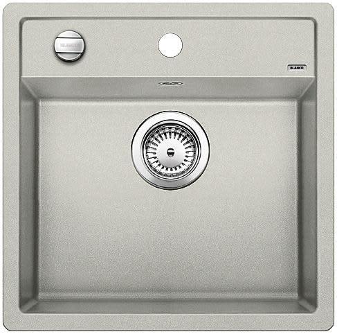 Blanco Dalago 5 MX Kjøkkenvask 51,5x51 cm m/kurvventil, Silgranit Perlegrå