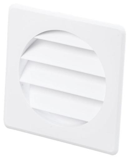 Duka Lamelldeksel - Ø100 mm, hvit