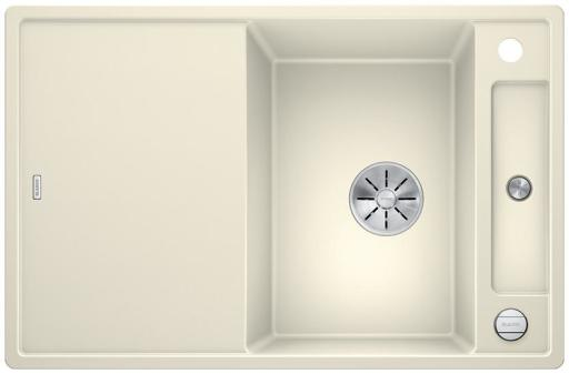 Blanco Axia 45S MXI Kjøkkenvask 78x51 m/InFino kurvventil, Silgranit Jasmin