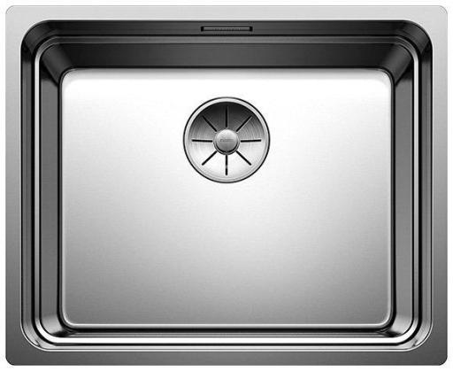 Blanco Etagon 500-U UXI Kjøkkenvask 54x44 cm m/InFino kurvventil, Rustfritt Stål