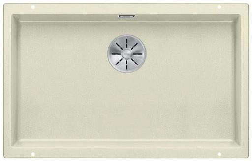 Blanco Subline 700-U UXI Kjøkkenvask 73x46 cm m/InFino kurvventil, Silgranil Jasmin