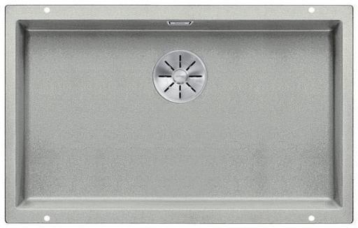 Blanco Subline 700-U UXI Kjøkkenvask 73x46 cm m/InFino kurvventil, Silgranil perlegrå
