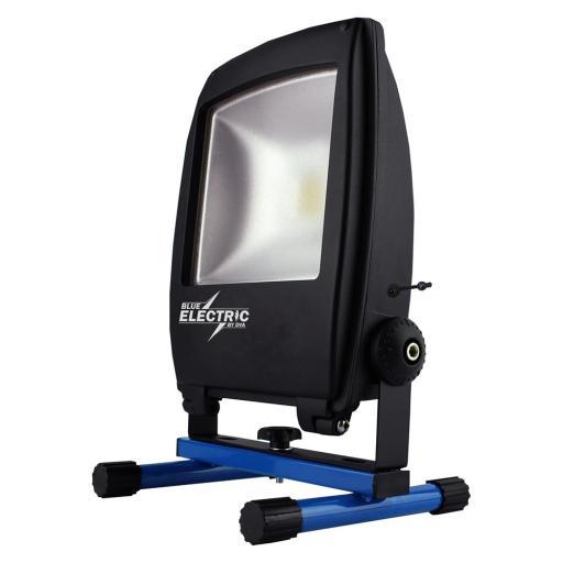 Blue Electric Akku Arbeidslampe LED 20W/840