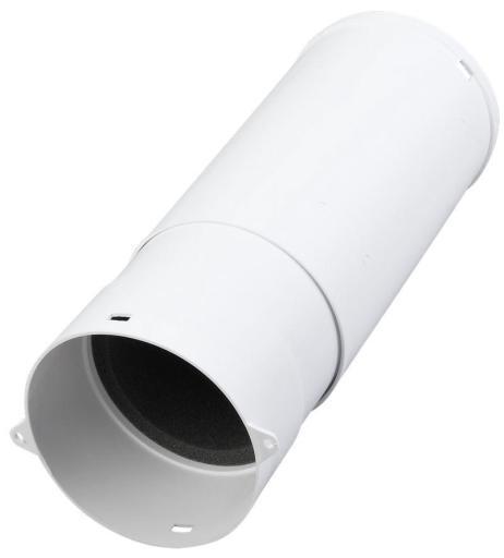 Duka murgjennomføring Ø105 mm, hvit