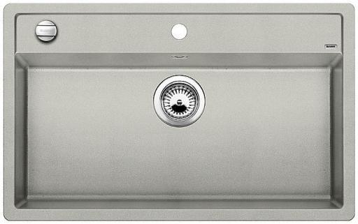 Blanco Dalago 8 MX Kjøkkenvask 81,5x51 cm, m/kurvventil, Silgranit Perlegrå