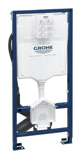 GROHE Rapid SL Innbyggingsisterne til dusjstoalett, frontbetjent, høyde 113 cm