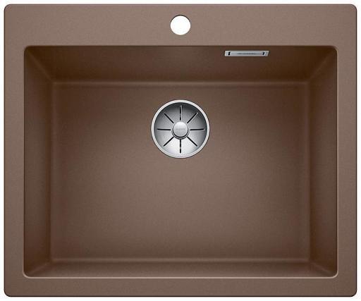 Blanco Pleon 6 UXI Kjøkkenvask 61,50x51 cm m/InFino Kurvventil, Silgranit Muskat