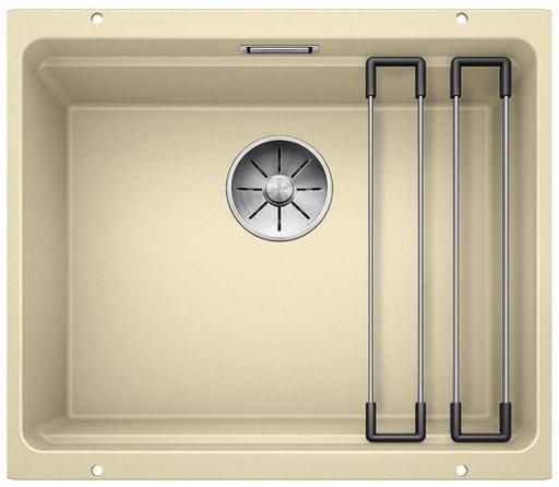 Blanco Etagon 500-U UXI Kjøkkenvask 53x46 cm/InFino kurvventil, Silgranit Achampagne