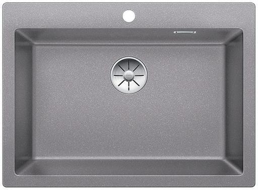 Blanco Pleon 8 UXI Kjøkkenvask 70x51 cm m/InFino Kurvventil, Silgranit Aluminium