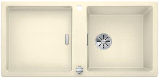 Blanco Adon XL 6 S MXI kjøkkenvaski silgranit medInFino® kurvventil