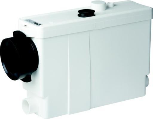 SFA Sanipack avløpspumpe for installasjonsvegg (velegnet til toalett, servant, dusjkabinett og bide)