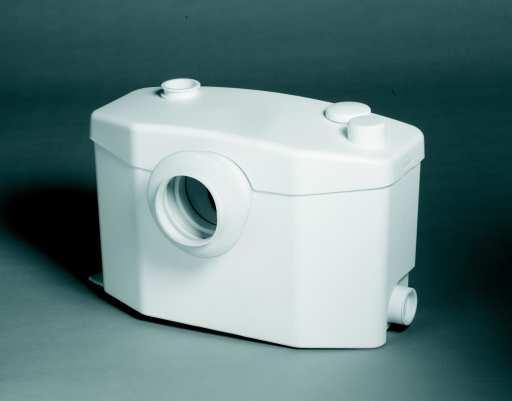 SFA Sanipro avløpspumpe (velegnet til toalett, servant, dusjkabinett og bidè)