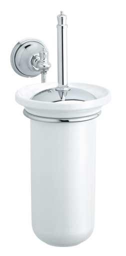 Damixa Tradition Toalettbørste, Krom