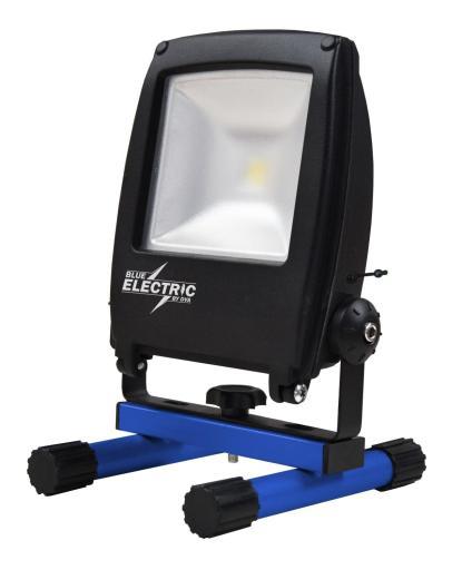 Blue Electric Akku Arbeidslampe LED 10W/840